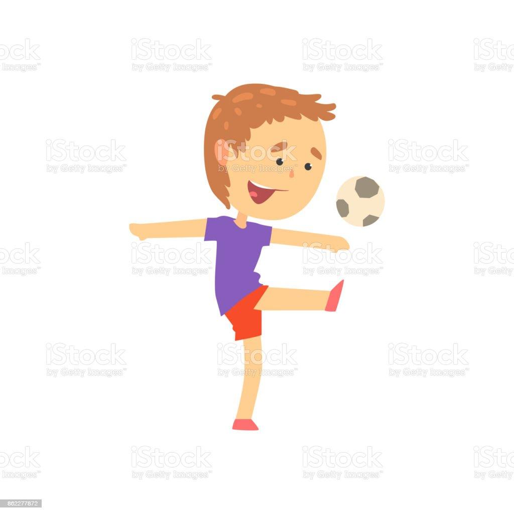 Jungen Spielen Fussball Spielen Kinder Korperliche Aktivitat