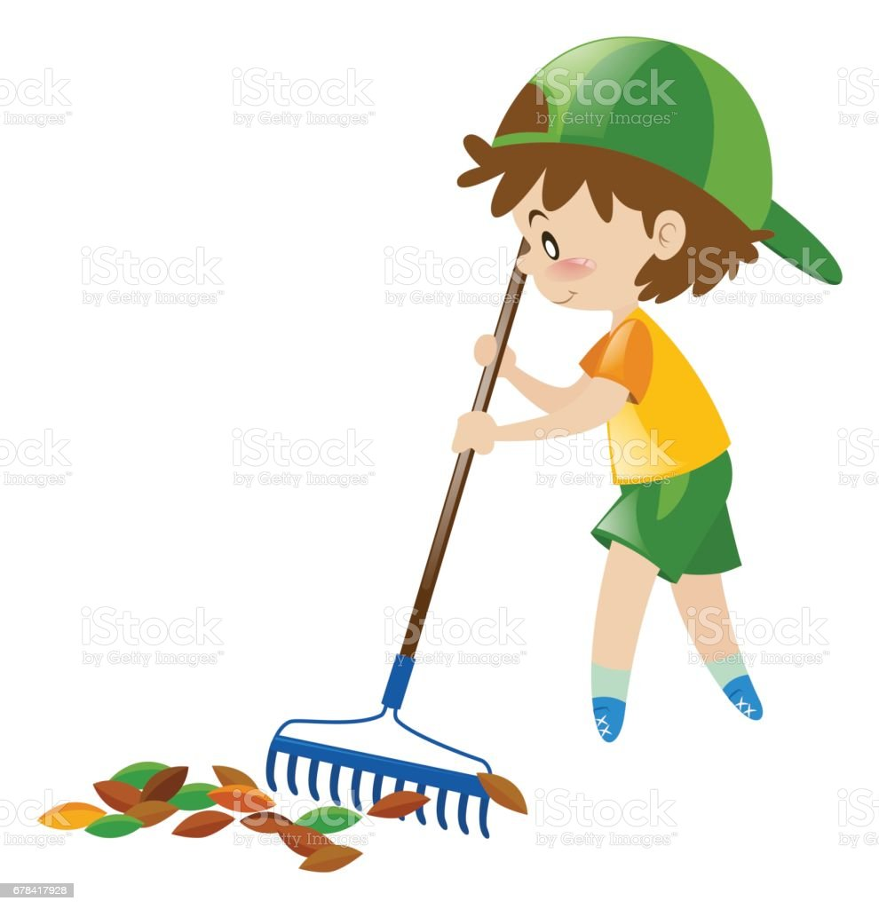 royalty free raking leaves clipart pictures clip art vector images rh istockphoto com clipart rake leaves raking leaves clipart