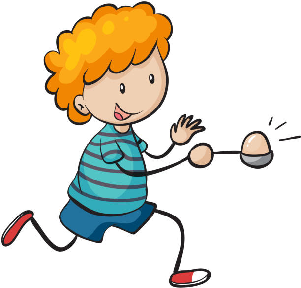 36 Egg And Spoon Race Illustrations & Clip Art - iStock
