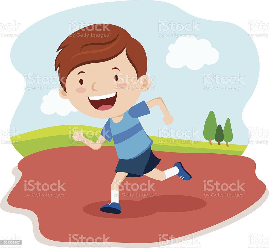royalty free children running clip art vector images rh istockphoto com boy girl running clipart boy girl running clipart