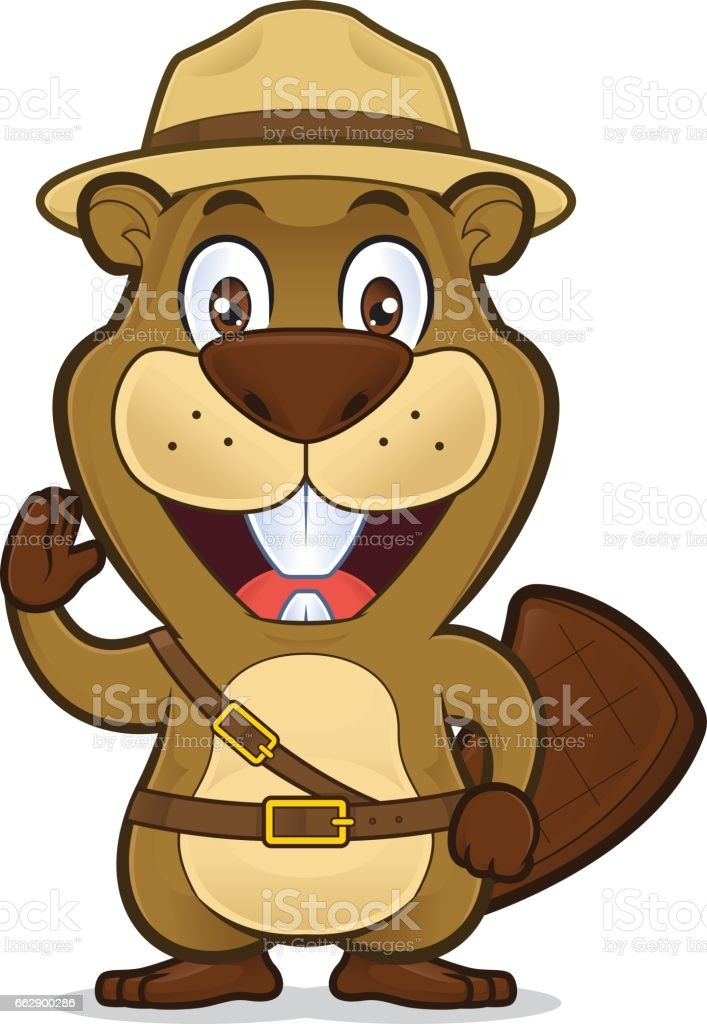 Boy Scout Beaver Stock Vector Art & More Images of Animal 662900286 ...