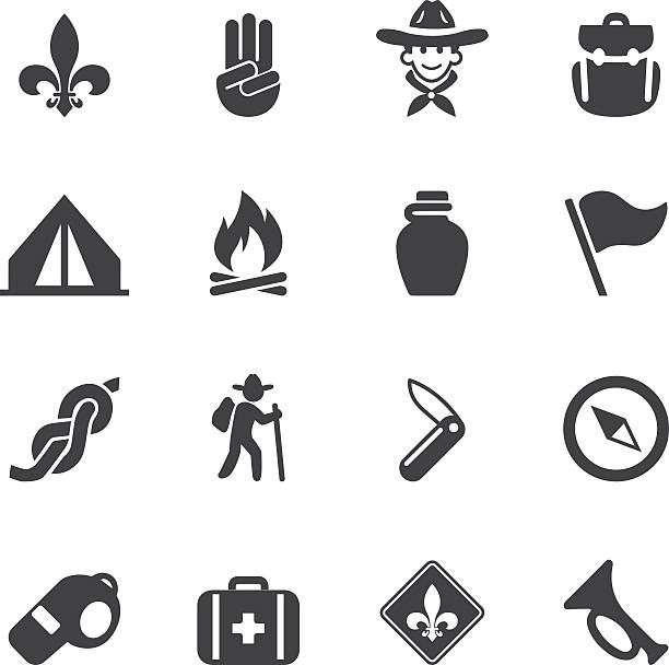 Royalty Free Boy Scout Clip Art Vector Images Illustrations Istock