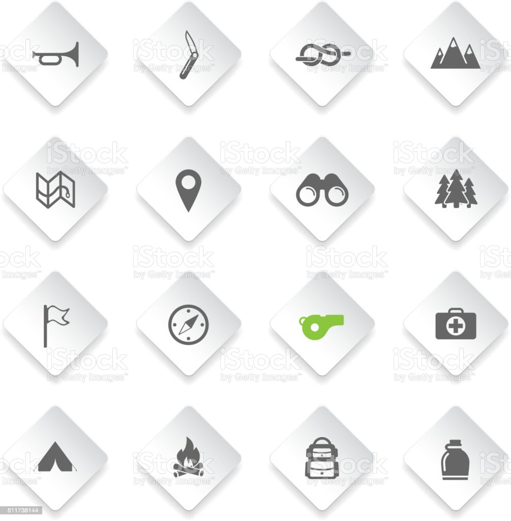 Boy Scout Simply Icons Stock Illustration - Download Image Now