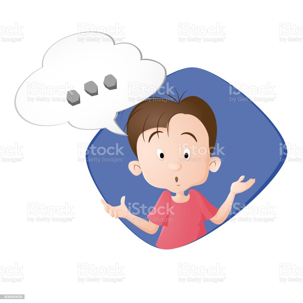 View Boy Thinking Cartoon  Pics