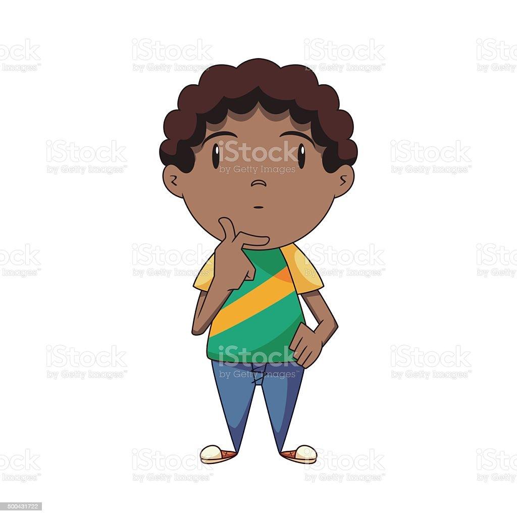 royalty free boy thinking clip art vector images illustrations rh istockphoto com little boy thinking clipart boy thinking clipart black and white