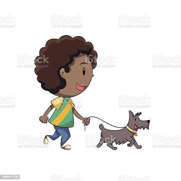 Boy walking dog vector id639497294?b=1&k=6&m=639497294&s=612x612&h=8armrzvkj1ml7dgrdhply8uw755t2rfqbok8bkuibnc=