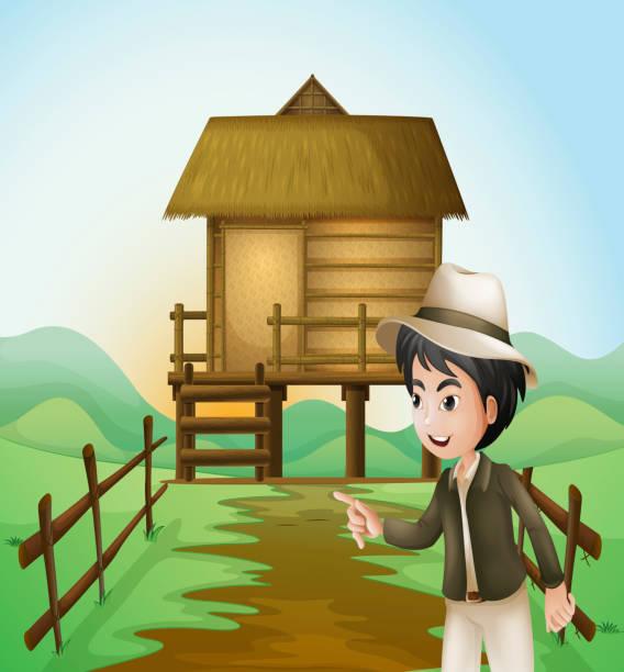 Best Nipa Hut Illustrations, Royalty-Free Vector Graphics