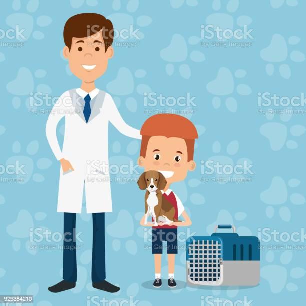 Boy with dog and veterinary doctor characters vector id929384210?b=1&k=6&m=929384210&s=612x612&h=jr87mfhvf y4mybzw5rtq ceyxkreicfq fwjzgjfcm=