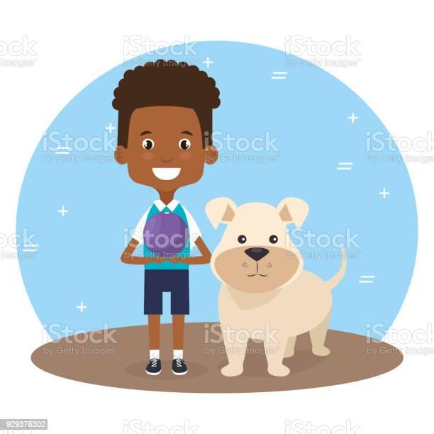 Boy with dog character vector id929376302?b=1&k=6&m=929376302&s=612x612&h=b7lxpvvgyp7bmprvlihyii5csfrq46cyfmyqfzxbxxw=