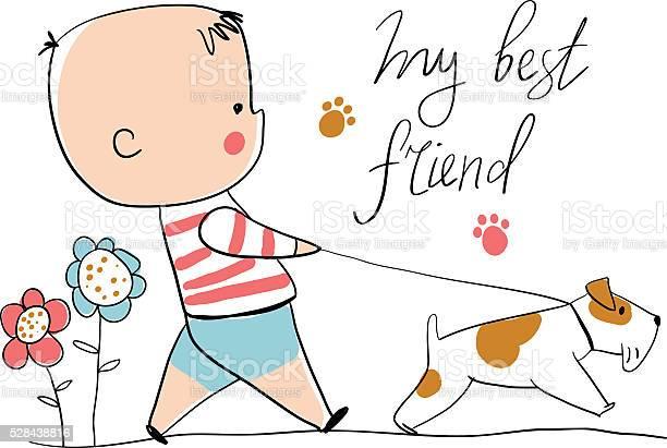 Boy with dog vector id528438816?b=1&k=6&m=528438816&s=612x612&h=iadzxqqeqioxdrl2 lqfifh9ayqthyidbs9attb8zrg=