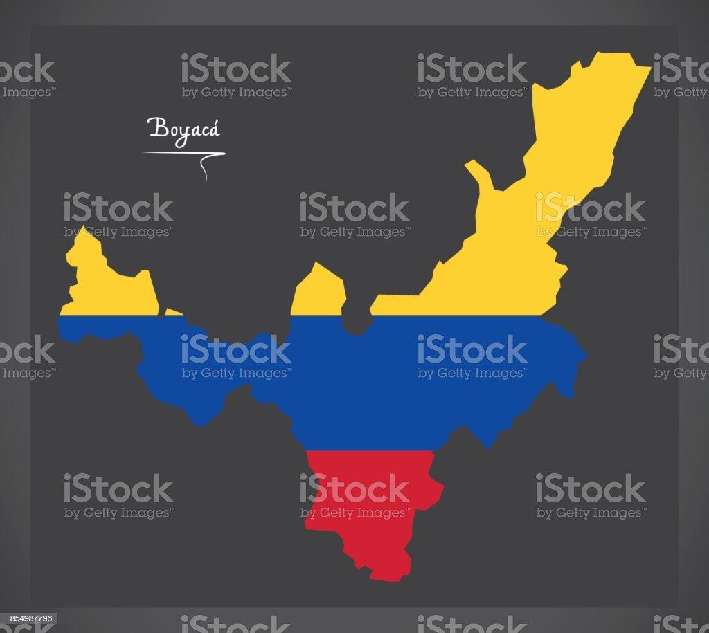 コロンビアの国旗のイラストがコ...