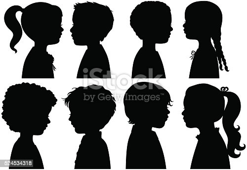 istock Boys and Girls in Silhouette 524534318