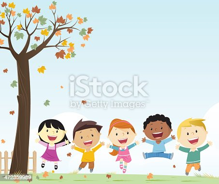 Autumn and kids