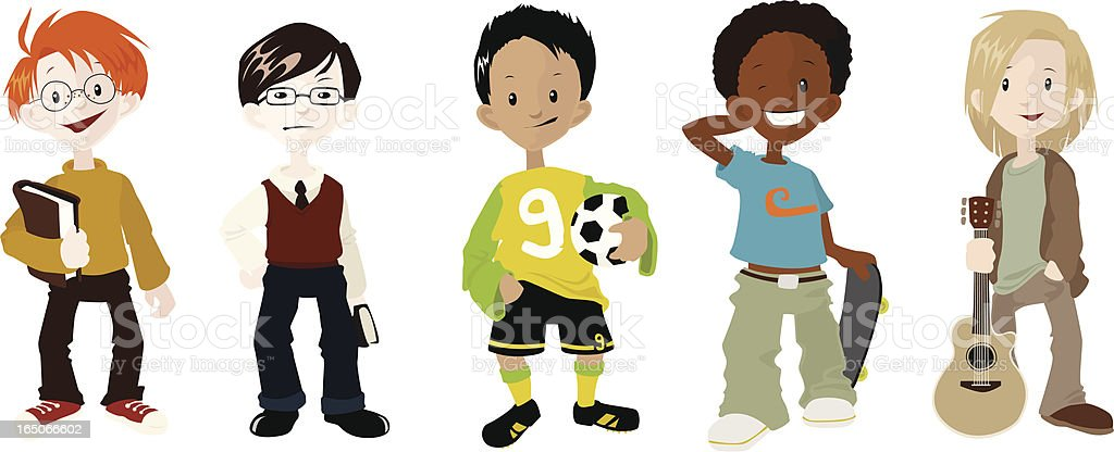 Boys and their Hobbies royalty-free boys and their hobbies stock vector art & more images of african ethnicity