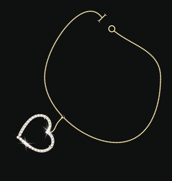 armband mit herz - perlenweben stock-grafiken, -clipart, -cartoons und -symbole