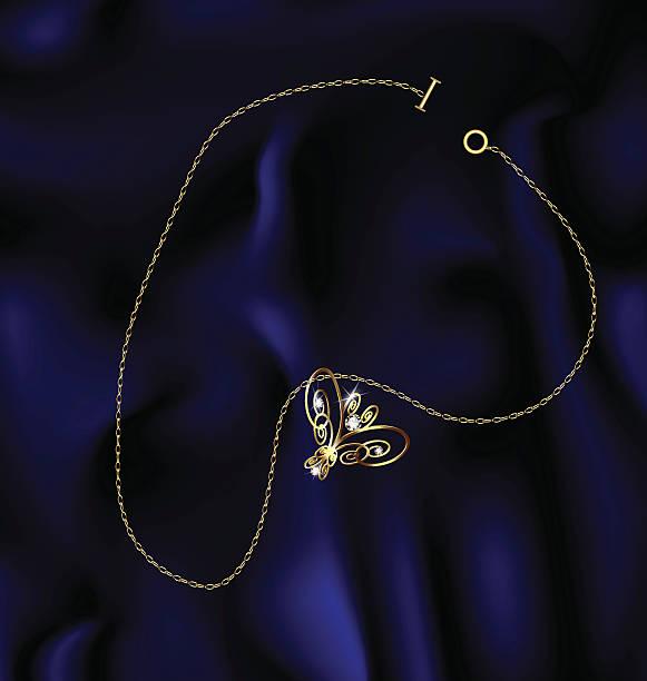 armband mit schmetterlingsmotiv - perlenweben stock-grafiken, -clipart, -cartoons und -symbole