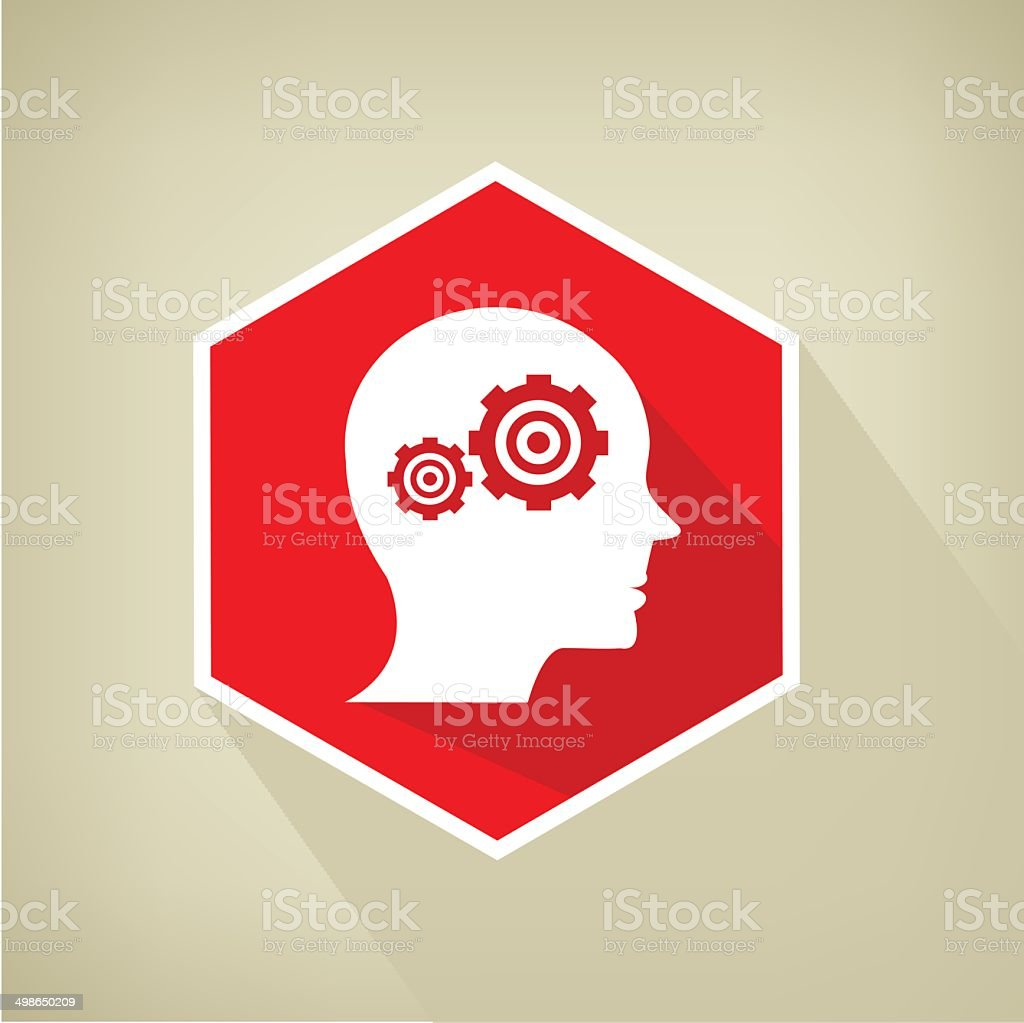 Brain control button royalty-free brain control button stock vector art & more images of adult