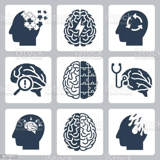 Brain degenerative deseases memory loss related icon set vector id902460024?b=1&k=6&m=902460024&s=612x612&h=j6bdha8f5kb0aerjy8dtdj0q8yew ivqgjjwvmlm8hq=