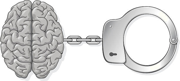 ilustrações de stock, clip art, desenhos animados e ícones de cérebro algema - douro