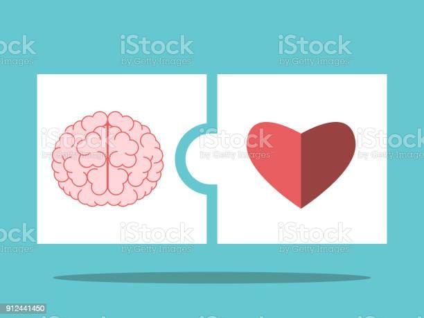 Brain heart puzzle pieces vector id912441450?b=1&k=6&m=912441450&s=612x612&h=4hpe2 aqma0zlbcqj0eohot htwfj4v2kouwcwjvbas=