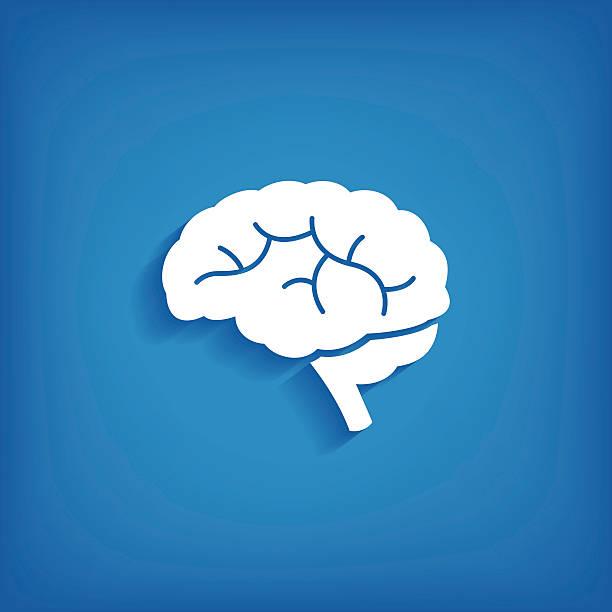 Brain Icon vector art illustration