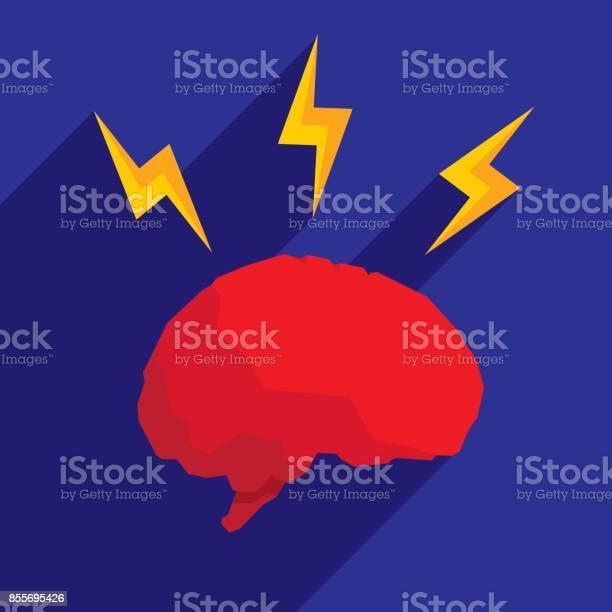 Brain lightning icon flat vector id855695426?b=1&k=6&m=855695426&s=612x612&h=qrpd2drxfp13edf1cyzxbbzwrpxgz5u bglptuoslr4=