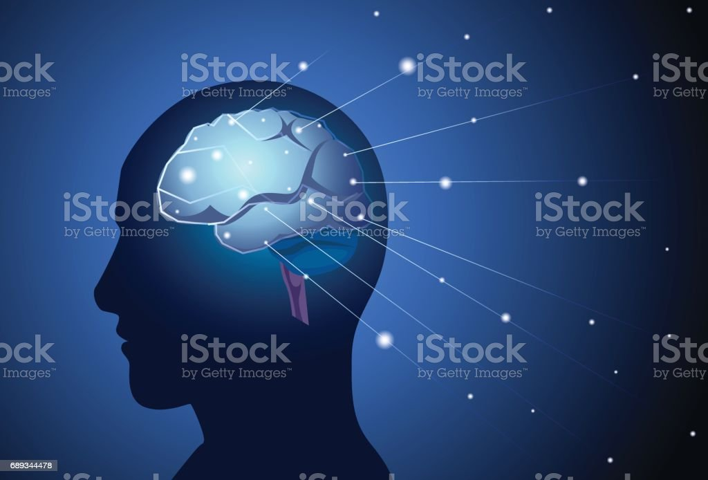 Brain neurons activity medicine thinking intelligence concept banner brain neurons activity medicine thinking intelligence concept banner with copy space royalty free brain neurons ccuart Image collections