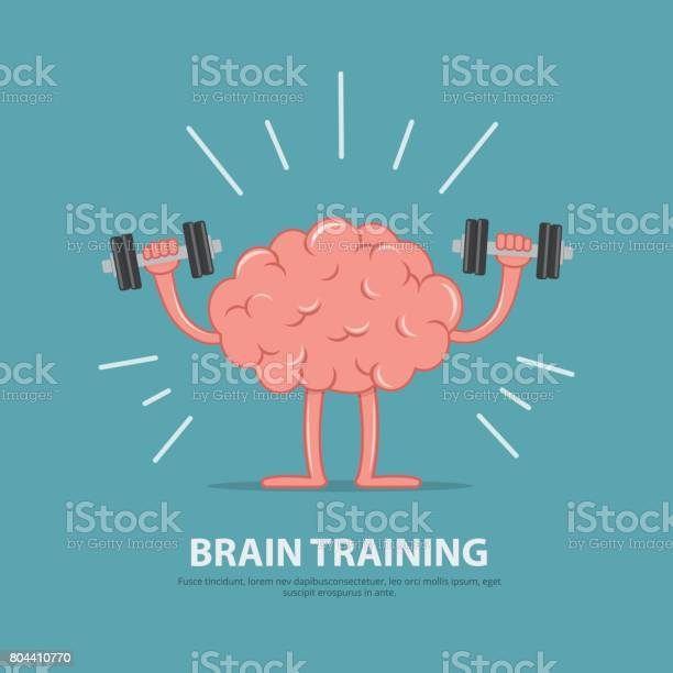 Brain power brain exercise cartoon brain character lifting dumbbells vector id804410770?b=1&k=6&m=804410770&s=612x612&h=4cmvuvy qfatf3okyldxxw4ahayktqul2rkiieyplto=