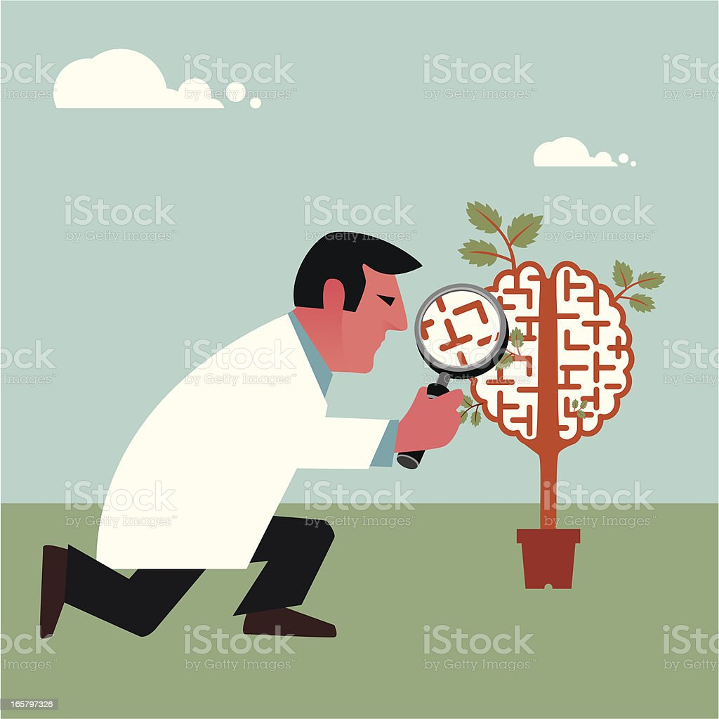 Brain research royalty-free brain research stock vector art & more images of concepts