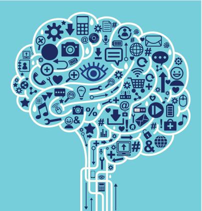 brain social media