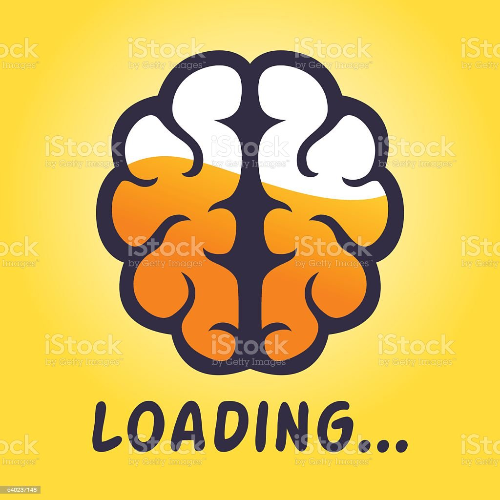 Brain thinking loading progress icon stock vector art more brain thinking loading progress icon royalty free brain thinking loading progress icon stock vector art biocorpaavc Image collections
