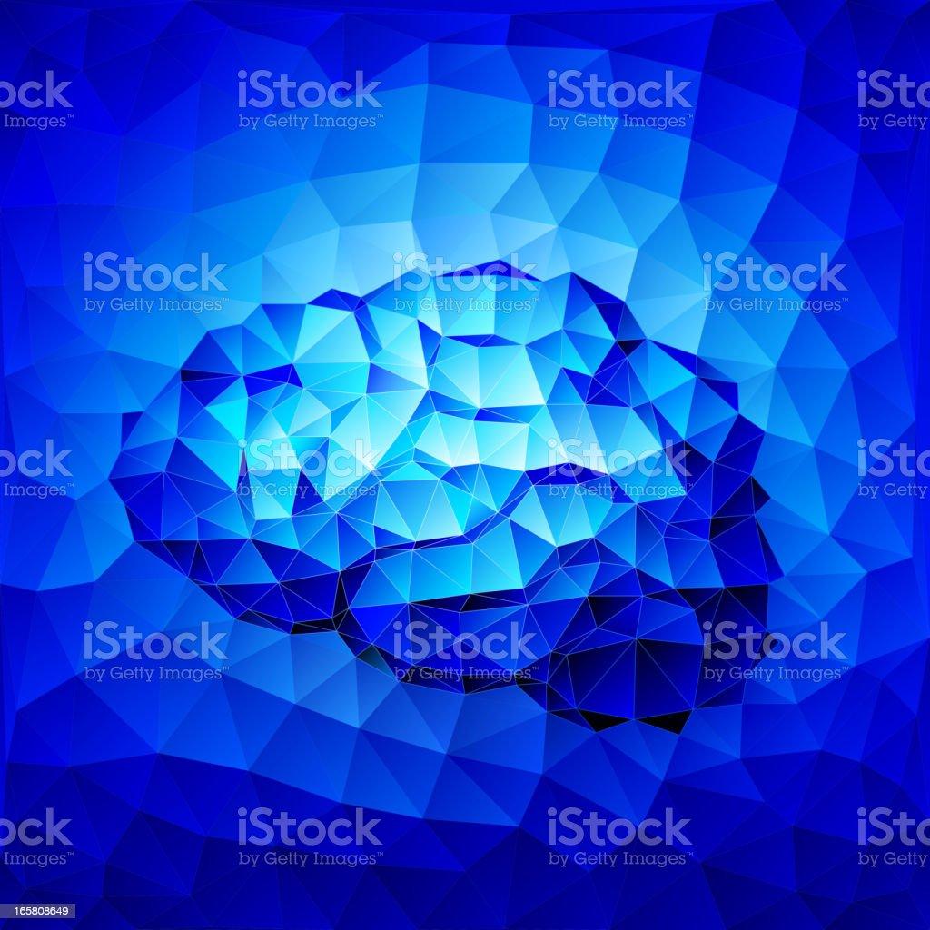 Brain royalty-free stock vector art