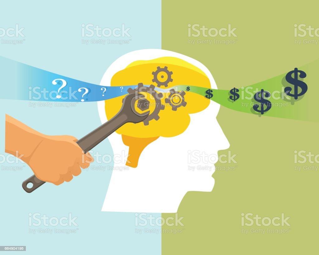 Brain vector illustration brain vector illustration - immagini vettoriali stock e altre immagini di affari royalty-free