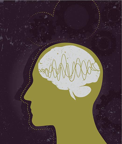 ilustrações de stock, clip art, desenhos animados e ícones de cérebro funciona - alzheimer