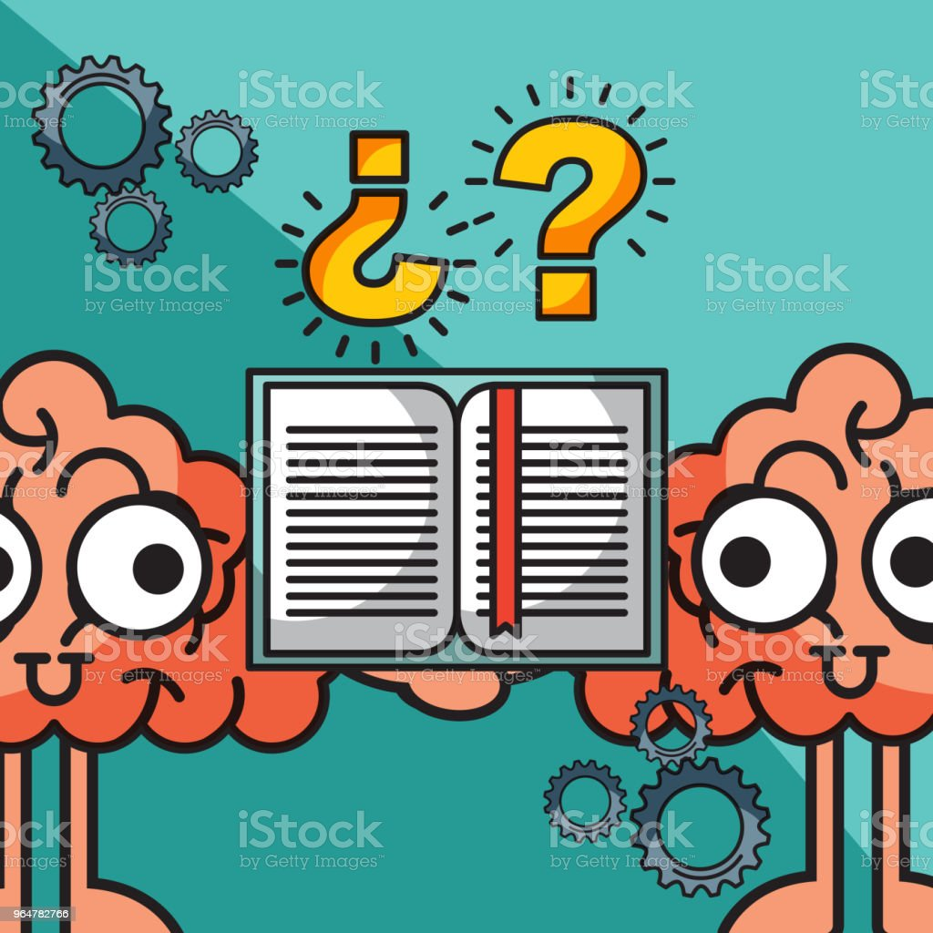 brains cartoon creative idea book learning royalty-free brains cartoon creative idea book learning stock vector art & more images of abstract
