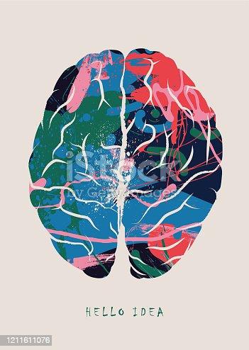 istock Brainstorming, Brain Concept - vector illustration 1211611076