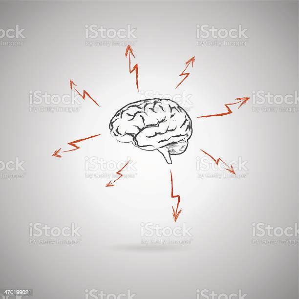 Brainstormingkonzept Stock Vektor Art und mehr Bilder von Betrachtung