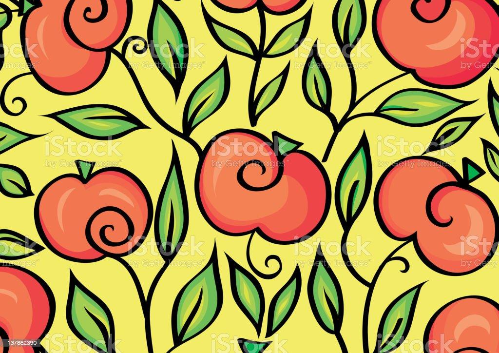 Zweige von apple – Vektorgrafik