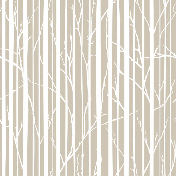 Branches of trees intertwine. Seamless pattern natural theme. Branches and stripes pattern Branches of trees intertwine. Seamless pattern natural theme. Branches and stripes pattern. fall background stock illustrations