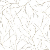 Branches of trees intertwine. Seamless pattern natural theme.