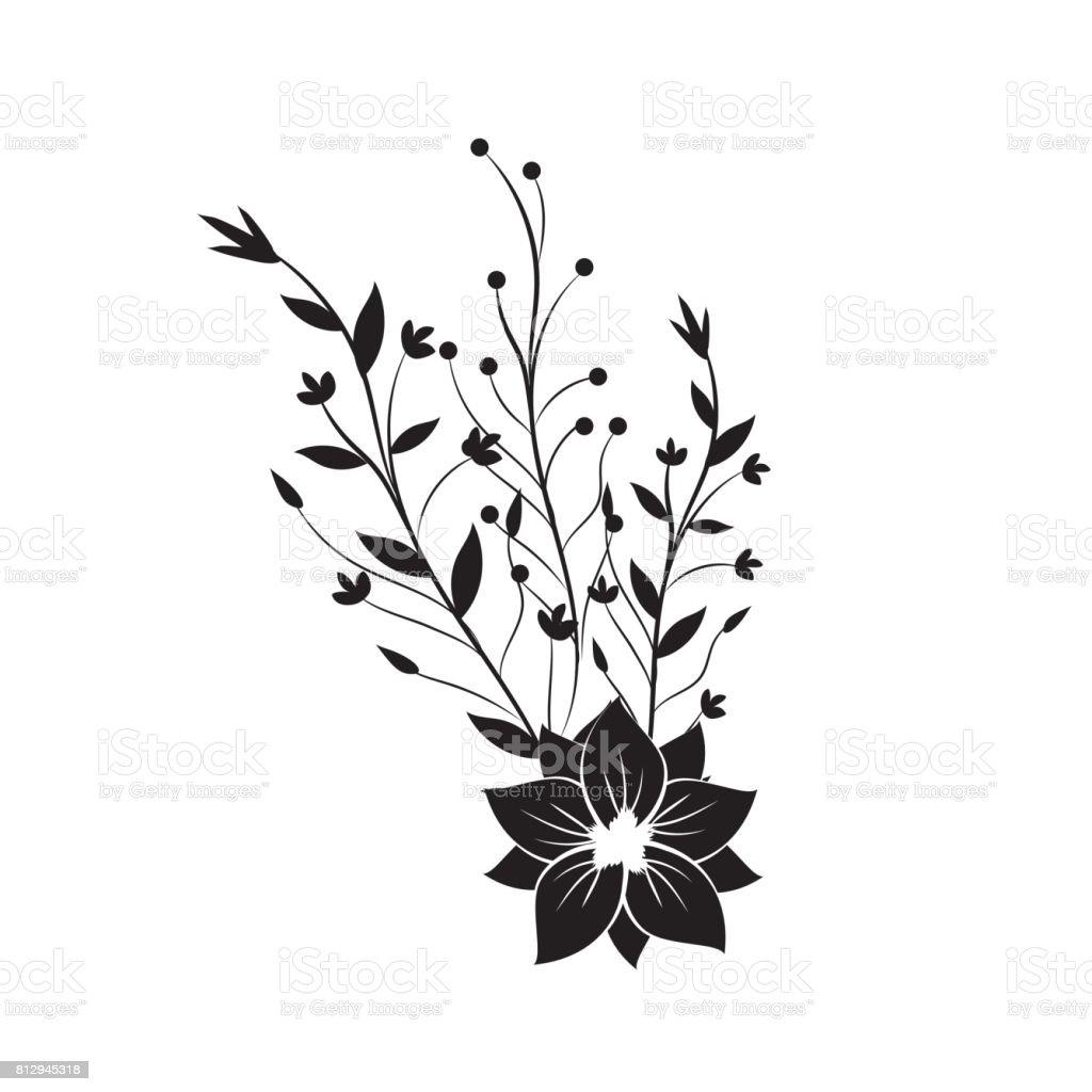branches avec feuilles et fleurs d coration cliparts vectoriels et plus d 39 images de arbre. Black Bedroom Furniture Sets. Home Design Ideas