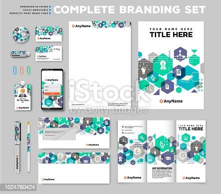 Brand identity set