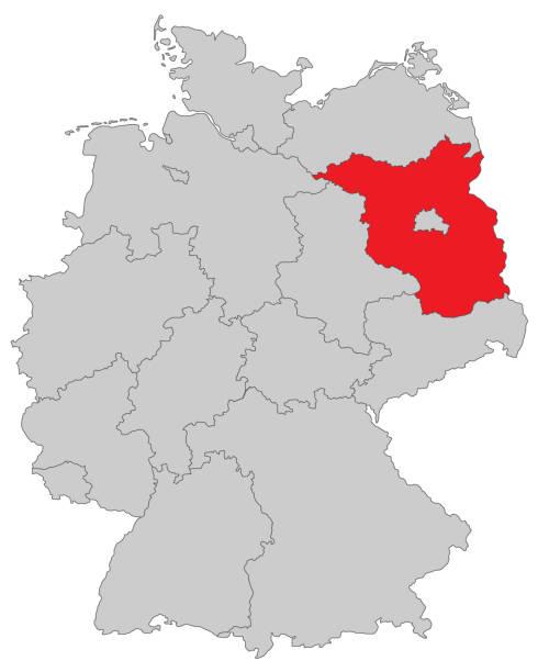 Brandenburg – Vektorgrafik