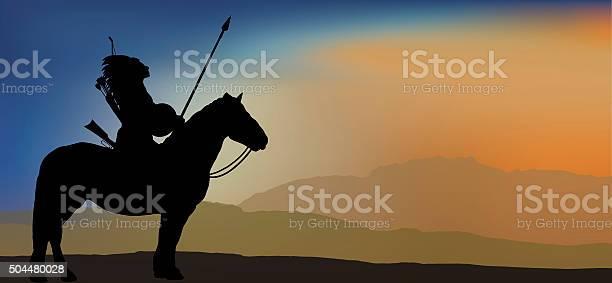 Brave indian warrior in mountains vector id504480028?b=1&k=6&m=504480028&s=612x612&h=z e9 gx5vowwvxqyyafum 8qxqm adzmkk3f6cjosa8=