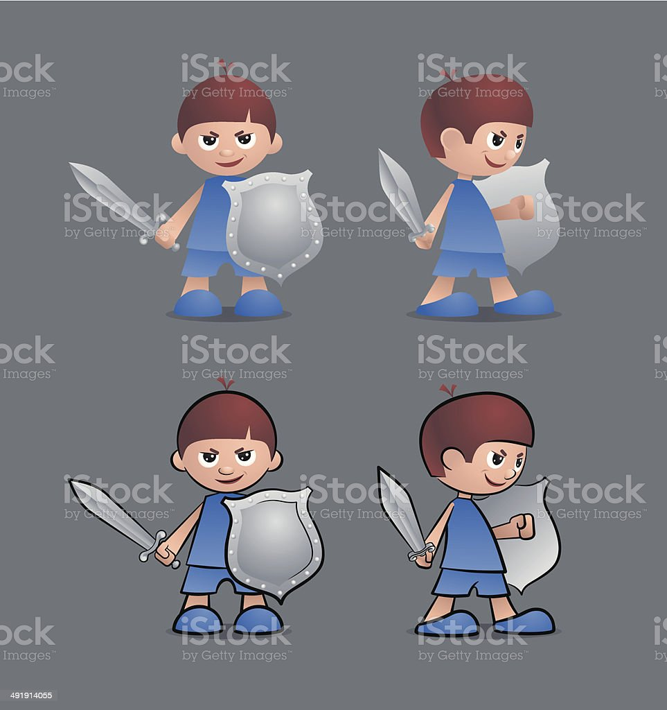 Brave Little Knight royalty-free brave little knight stock vector art & more images of actor