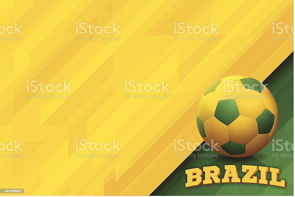 Brazil Background vector art illustration