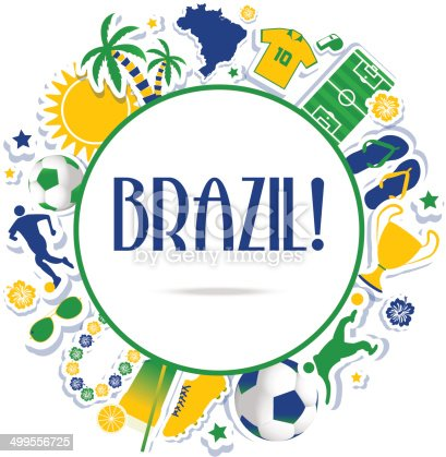 istock Brazil background 499556725