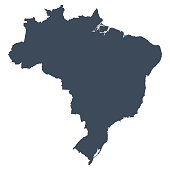 istock Brazil country map 470863204