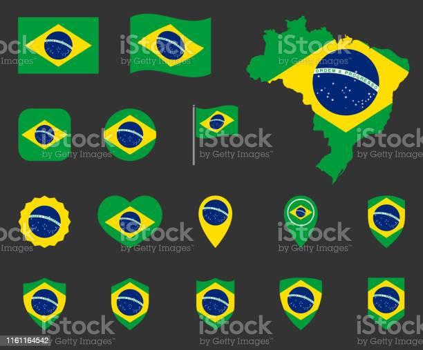 Brazil flag icons set symbols of the flag of federative republic of vector id1161164542?b=1&k=6&m=1161164542&s=612x612&h=idnrjnk9ucwnoqoj1iepul5qga8jdluqjbg72ngoc1a=