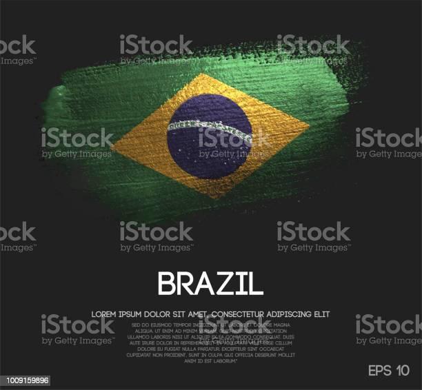 Brazil flag made of glitter sparkle brush paint vector vector id1009159896?b=1&k=6&m=1009159896&s=612x612&h=3cxdy1nfxztmrqvk9xifylrdirswfz2klwklp9nyexs=